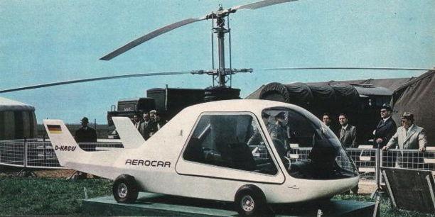 Wagner Aerocar Rotocar III