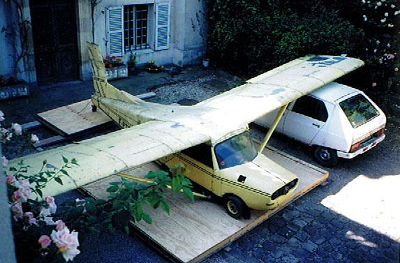 voiture volante autoplane